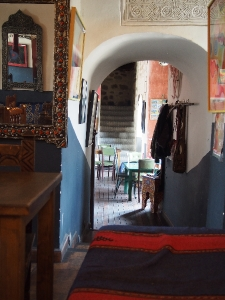 inside the Restaurante